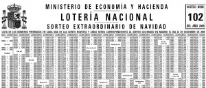 loteria nacional lista de premios: